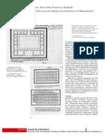Vitruvio, Piero Della Francesca, Raffaello, Note Sulla Teoria Del Disegno Di Architettura Nel Rinascimento