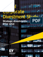 EY Global Corporate Divestment Study