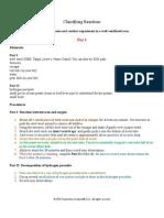 U5L3 Classifying Reactions Portfolio Word