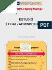 Semana 10 Estudio Administrativo -Legal