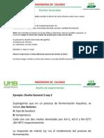 Diseños factoriales