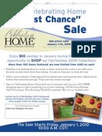 Celebrating Home Last Chance Sale Patty Dooley