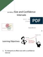 Effect Size CI