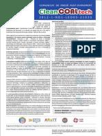 CleanCOALtech Comunicat Post Eveniment RO