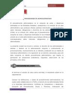 Cuarta Unidad -El Procedimiento Administrativo
