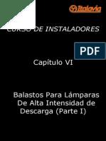 Cap 6 - Balastos Para Lámparas de Descarga