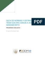 EDG_GUIA_ Guate_Normas y Estandares Agua y Saneamiento