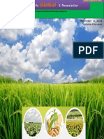 11th November Daily Global Rice E-Newsletter by Riceplus Magazine