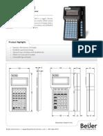 QSI QTERM-II Datasheet
