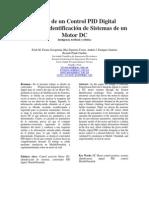 Diseño de Un Control PID Digital Mediante Identificación de Sistemas de Un Motor DC_InteligenciaArtificialyRobótica