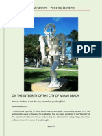 On the Integrity of the City of Miami Beach