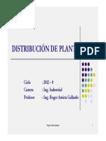 Unidad 1 - El Problema de Distribucion en Planta