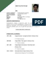 Curriculum Vitae Cristhian Erik1