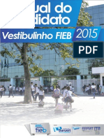Manual Vestibulinho FIEB 2015