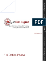 1.1.3 Six Sigma Approach
