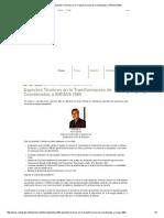 Aspectos Técnicos en La Transformación de Coordenadas a SIRGAS 2000