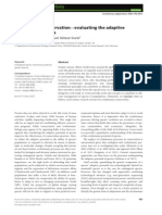 Evolutionary conservation—evaluating the adaptive potential of species