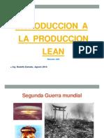 Que Es Lean Manufacturing Guatemala