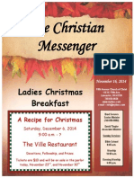 November 16 Newsletter