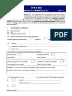 In-PM-002 Instructivo DAS y Charlas 5 Minutos