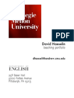 Haeselin_Teaching Portfolio