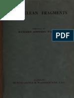 Sophoclean Fragments
