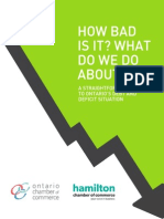 Ontario Debt Report - Ontario Chamber of Commerce
