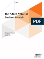 The Added Value of Business Models