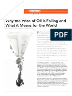 Why the Price of Oil is Falling and What it Means for the World