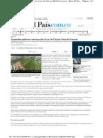 Condominio Remanso de La Colina PANCE (Cali) Suspenden Licencia