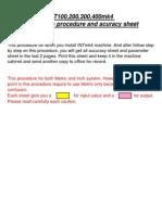 Mazak Integrex ATC Alignment Procedure