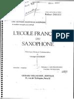 The french saxophone Robert Druet