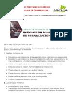 Fichas Tecnicas de Prevencion de Riesgos