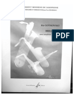 Brillance, Ida Gotovsky, Pour Saxophone Alto Et Piano