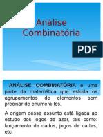 Análise Combinatória 5 Por Valéria Lama 2