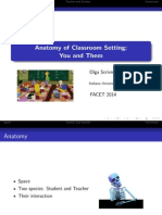Anatomy of the Classroom