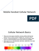 2G 3G 4G Mobile Handset Cellular Network