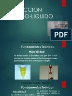 PROCESO UNITARIO EXTRACCION  LIQUIDO LIQUIDO