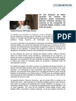 La Visionaria/Revista Dinero