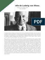 Uma Biografia de Ludwig Von Mises