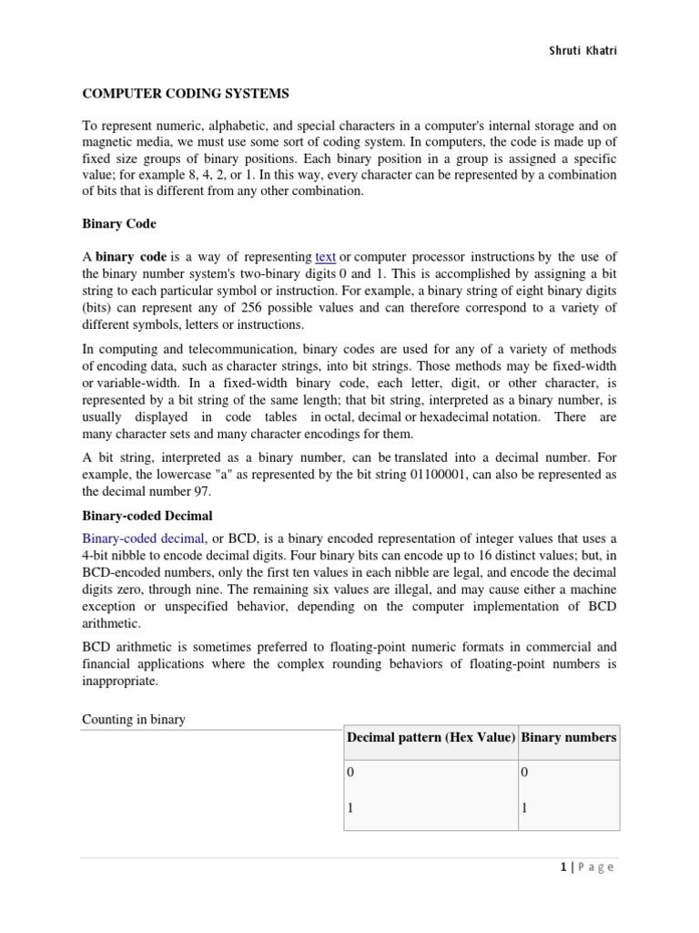 Computer coding system ebcdic ascii biocorpaavc Gallery