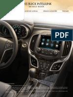 2015 Buick Intellilink Details Book