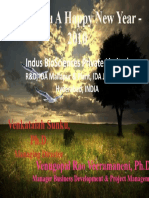 New Year Greeting From Indus Bio