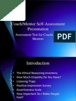 coach mentor self-assessment presentation 2