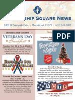 Fellowship Square November News