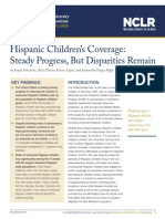 Hispanic Childrens Coverage