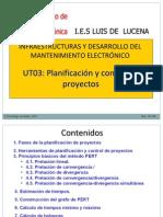 Gestión de proyectos mediante gráficos PERT/ROY