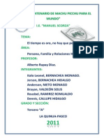 P,F y RR HH _EL TIEMPO ES ORO, NO HAY QUE PERDERLO (monográfico) [×Bern@cheaM×™]
