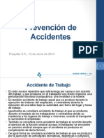 20140612 Prevención de Accidentes