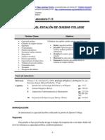 Protocolo Escalon Queens College